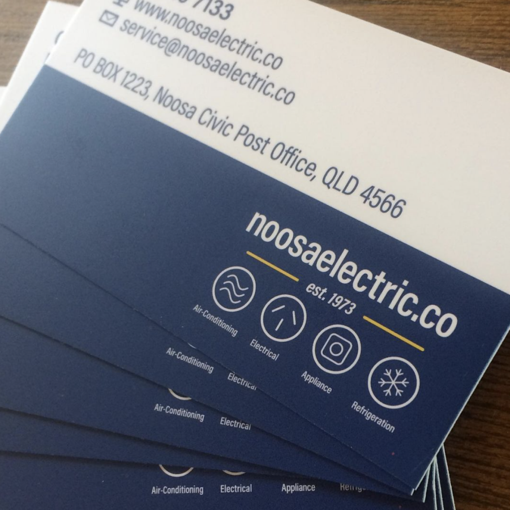 Noosa Electric Co Business Cards